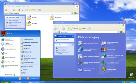 Windows XP mantener