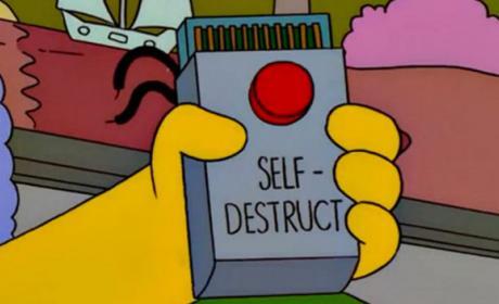 botón autodestrucción