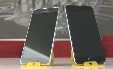 Comparativa de tamaño del iPhone 6 frente al Samsung Galaxy Alpha (vídeo)