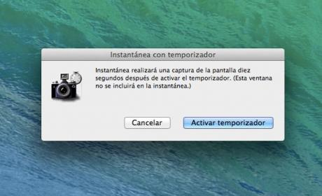 Captura de pantalla en Mac