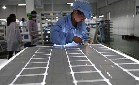 Aumenta el envío de paneles 'grandes' procedentes de China