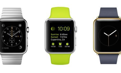 apple watch hora