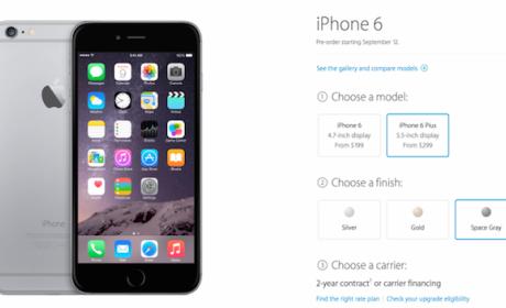 Apple aceptará órdenes iPhone 6 el viernes