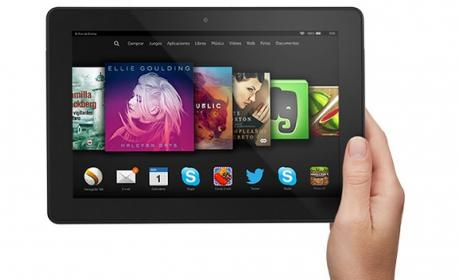 Nuevas tablets Fire HD 6, Fire HD 7 y Fire HDX 8.9 de Amazon.