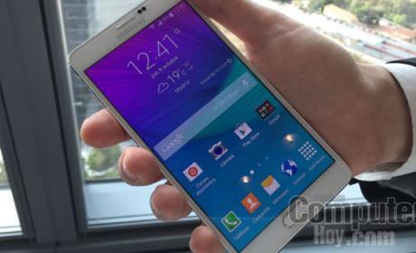 Samsung Galaxy Note 4 es ya el phablet QHD con mejor batería
