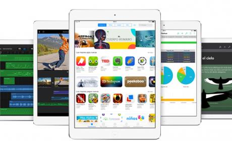 Nuevos Ipad Air y iPad Mini Retina