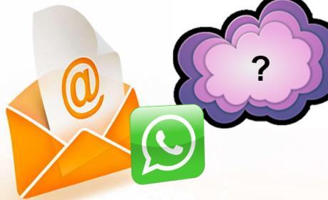 Debate: ¿matará el WhatsApp al correo electrónico?