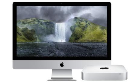 iMac pantalla Retina 5K y Mac Mini, precio y características.