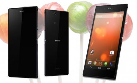 Xperia Z Lollipop