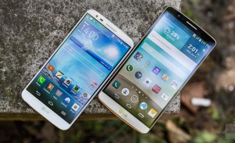 LG G2 LG G3 Android 5.0