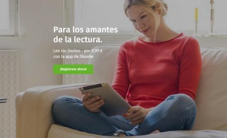 Llega Skoobe, el servicio de lectura con tarifa plana y miles de ebooks en español, estilo Spotify.