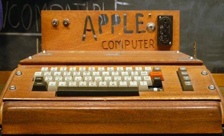 Ordenador de Apple podría alcanzar 600.000$ en una subasta