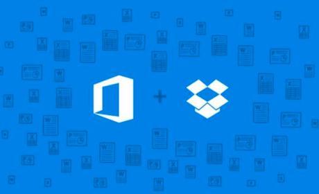 Dropbox y Microsoft se unen para integrar Office en la nube