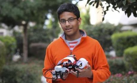 Niño de 13 años consigue financiación de Intel para proyecto