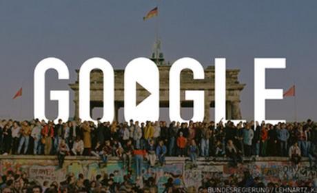 Google celebra el 25 Aniversario de la Caída del Muro de Berlín con un emotivo doodle en vídeo.
