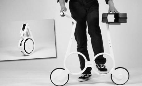 Impossible, la bicicleta eléctrica que guardas en tu mochila