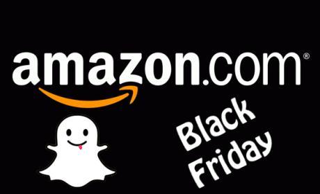 Black Friday: Amazon usa Snapchat para mostrar sus ofertas
