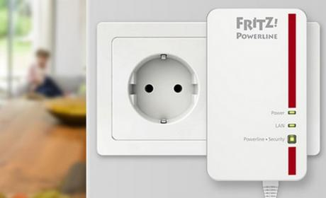 FRITZ!Powerline 1000E de AVM, el PLC más rápido del mercado, a 1200 Mbps, ya en España.