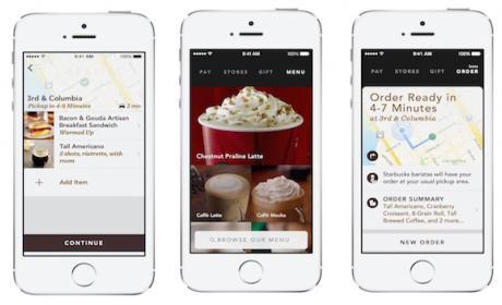 Nueva app de Starbucks permite ordenar tu café sin hacer fila