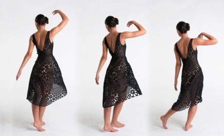 Kinematics, vestido impresora 3D