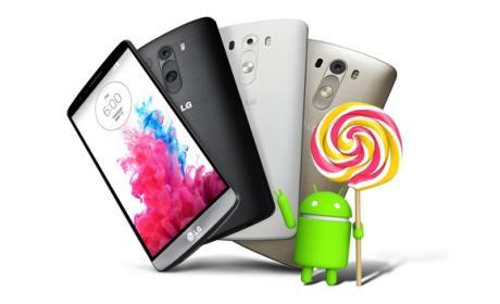 Android 5.0 Lollipop para el LG G3 ya disponible en España.