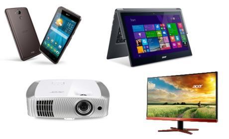 Acer en CES 2015: Smartphones, portátiles, monitores, proyector y centro de entretenimiento.