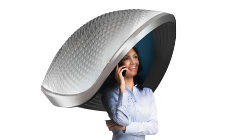 La Concha del Confort o Comfort-Shell, el primer gadget ridículo de CES 2015.