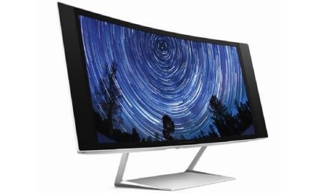 HP y sus nuevos monitores 4K y 5K y curvos en CES 2015.