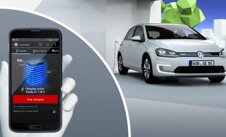 Volkswagen e-Golf, el coche eléctrico con carga inalámbrica sin cables.