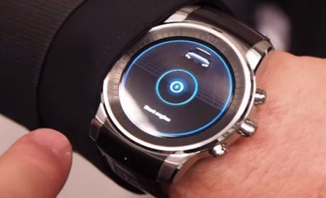 LG smartwatch webOS