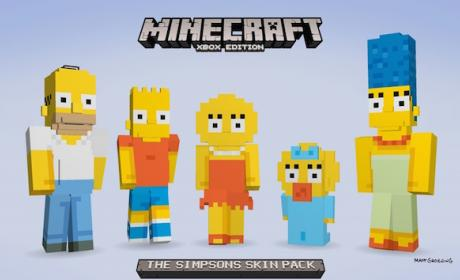 Simpsons llegan a Minecraft