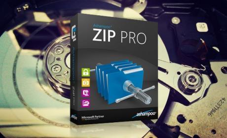 Ashampoo ZIP Pro comprime, encripta y comparte tus datos de forma sencilla y segura.
