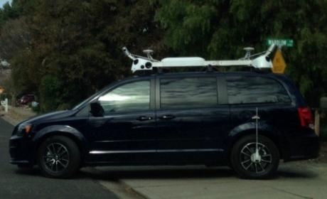 Misteriosos coches de Apple con cámaras recorren las calles: Podrían ser coches sin conductor o mapas al estilo Street View.