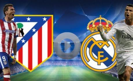 Ver online y en directo el Atlético de Madrid vs Real Madrid