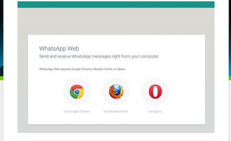 WhatsApp Web: compatible con los navegadores Firefox y Opera