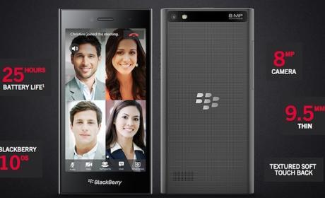 Blackberry Leap: el nuevo smartphone de Blackberry en el MWC