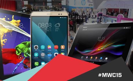 Las 5 mejores tablets del MWC 2015