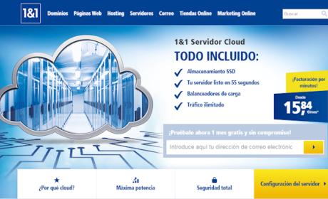 1&1 presenta una nueva generación de Servidores Cloud