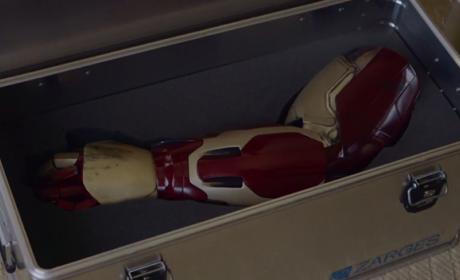 iron man brazo prótesis