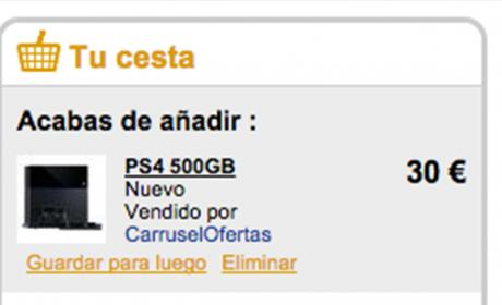 Playstation 30 euros fnac