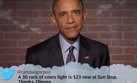 obama tuits trolls