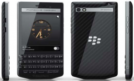BlackBerry P'9983 Graphite, la joya de BlackBerry y Porsche