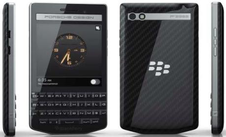BlackBerry P'9983 Graphite, la joya de BlackBerry y Porsche