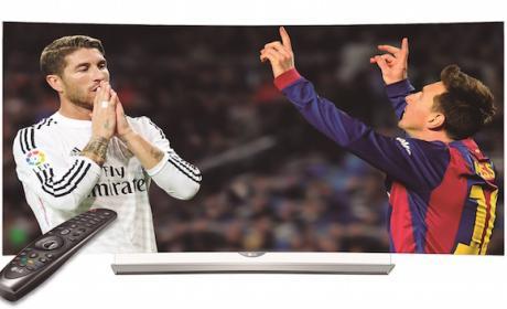 LG y Yomvi Play lanzan oferta en el FC Barcelona Real Madrid