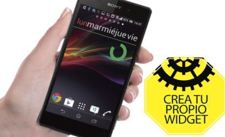 Crea tu propio widget personalizado en tu smartphone Android