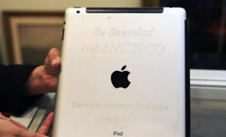 ¿Quieres el iPad del Papa Francisco? Sale a subasta en abril