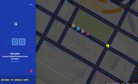 Feliz April Fools': Google Maps se viste de Pac-Man