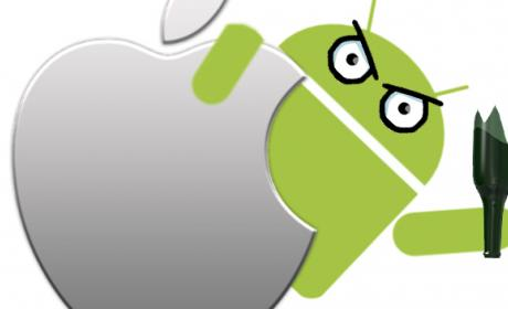 mejor apple android