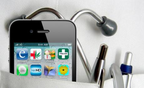 médicos aplicaciones