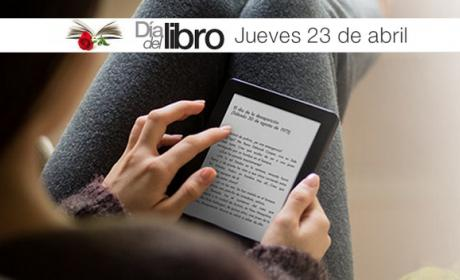 Día del Libro en Amazon: Kindle Paperwhite rebajado a 99€ y ebooks a 1€.
